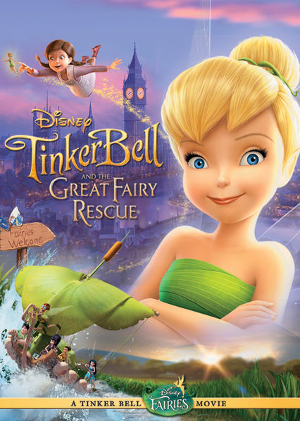 Tinker Bell and the Great Fairy Rescue Netflix AW (Aruba)