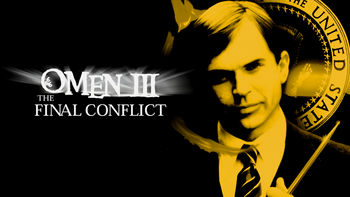 Netflix box art for Omen III: The Final Conflict