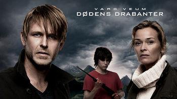 Netflix box art for Varg Veum - Dødens drabanter