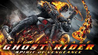 Netflix box art for Ghost Rider: Spirit of Vengeance