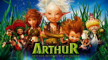 Netflix box art for Arthur and the Revenge of Maltazard