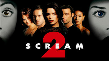 Netflix box art for Scream 2