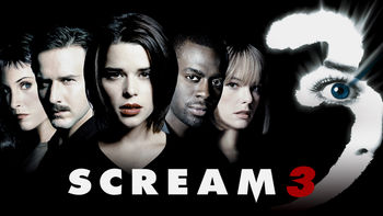 Netflix box art for Scream 3
