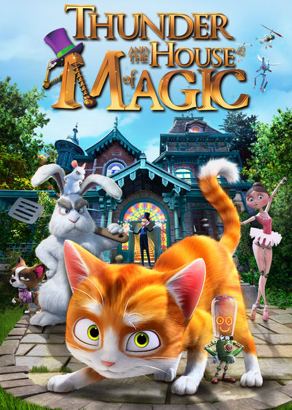 Thunder and the House Of Magic Netflix BR (Brazil)