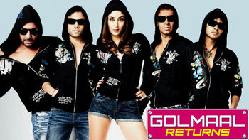 Netflix box art for Golmaal Returns