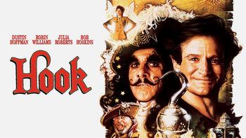 Netflix box art for Hook