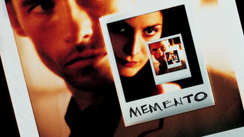 Netflix box art for Memento