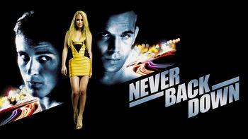 Netflix box art for Never Back Down