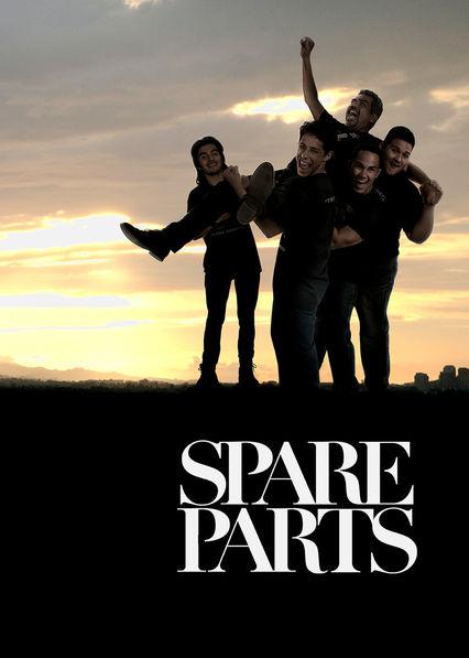 Spare Parts Netflix BR (Brazil)