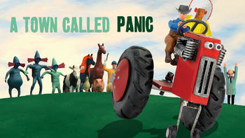 Netflix box art for A Town Called Panic
