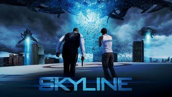 Netflix box art for Skyline