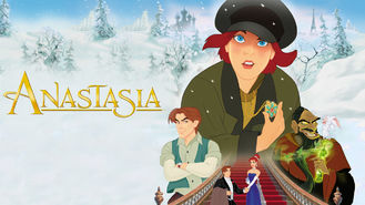 Netflix box art for Anastasia
