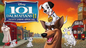 Netflix box art for 101 Dalmatians II
