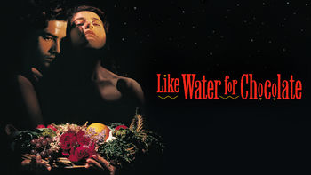 Netflix box art for Like Water for Chocolate