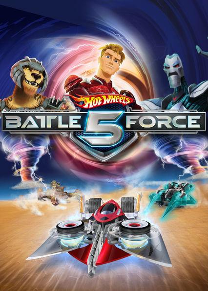 Hot Wheels: Battle Force 5 Netflix ES (España)