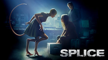Netflix box art for Splice