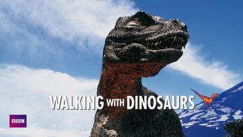 Netflix box art for Walking with Dinosaurs - Season 1