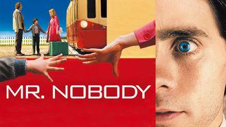 Netflix box art for Mr. Nobody
