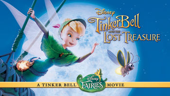 Netflix box art for Tinker Bell and the Lost Treasure