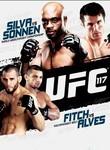 UFC 117: Silva vs. Sonnen Poster