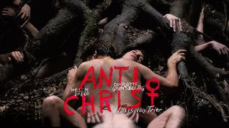 Netflix box art for Antichrist