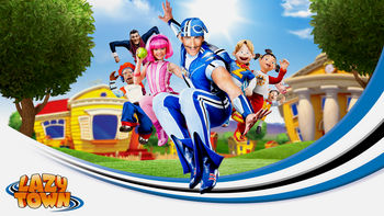 Netflix box art for LazyTown - Season 1