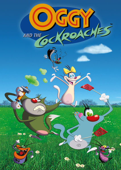 Oggy and the Cockroaches Netflix KR (South Korea)