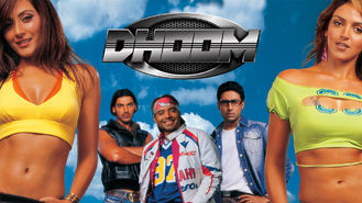 Netflix box art for Dhoom
