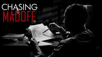 Netflix box art for Chasing Madoff