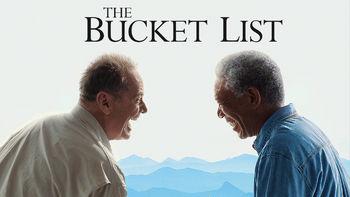 Netflix box art for The Bucket List