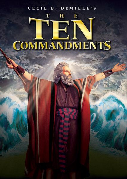 The Ten Commandments Netflix MY (Malaysia)
