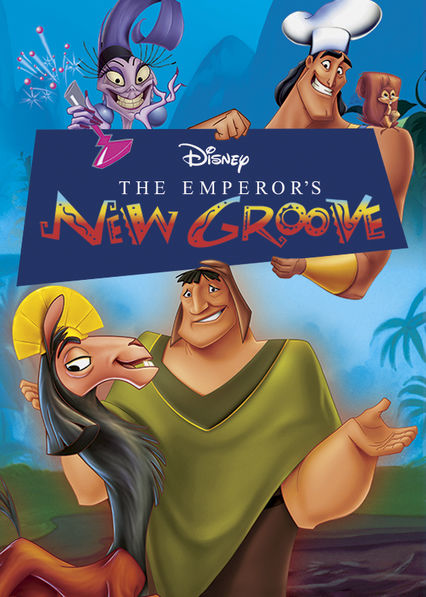 The Emperor's New Groove Netflix BR (Brazil)