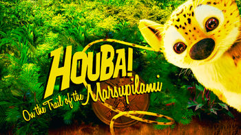 Netflix box art for Houba! On the Trail of the Marsupilami