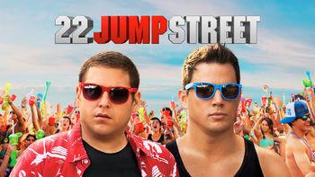 Netflix box art for 22 Jump Street