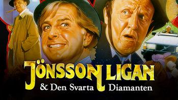 Netflix box art for Jönssonligan och den svarta diamanten