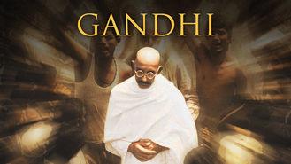 Netflix box art for Gandhi