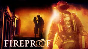 Netflix box art for Fireproof