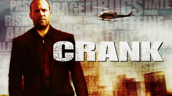 Netflix box art for Crank