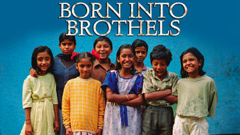 Netflix box art for Born into Brothels