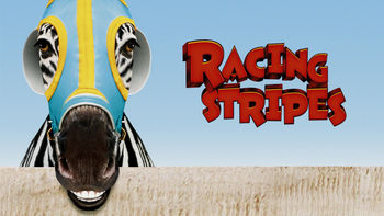 Netflix box art for Racing Stripes