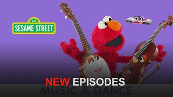 Netflix Box Art for Sesame Street: Music and Dance - Season 1