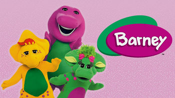 Netflix box art for Barney and Friends - Season 10