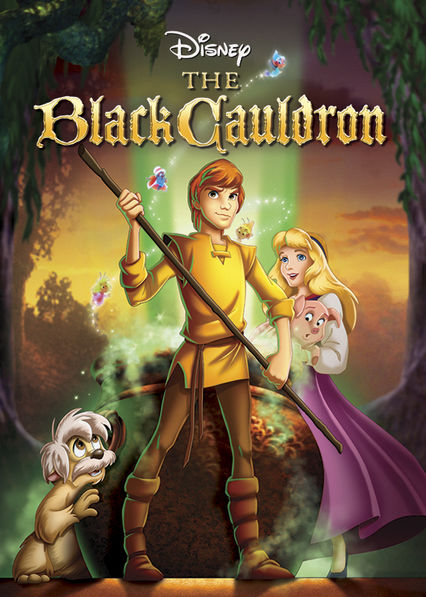 The Black Cauldron Netflix PA (Panama)