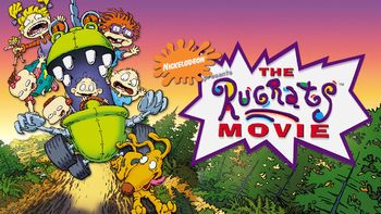 Netflix box art for The Rugrats Movie