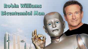 Netflix box art for Bicentennial Man