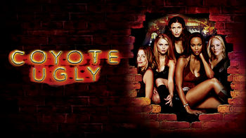 Netflix box art for Coyote Ugly
