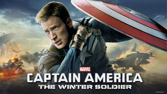 Netflix box art for Captain America: The Winter Soldier