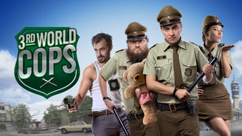 Netflix box art for 3rd World Cops