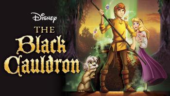 Netflix box art for The Black Cauldron