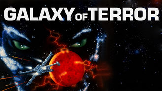 Netflix box art for Galaxy of Terror
